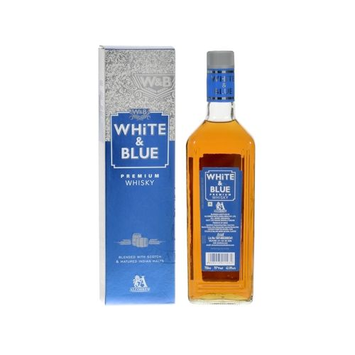 White And Blue Premium Whiskey