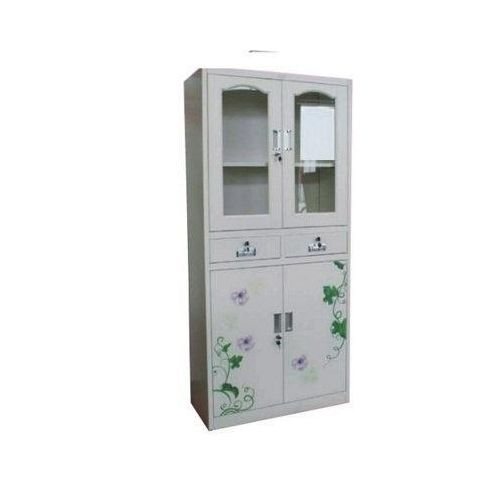 Metal Glass File Cabinet / Bookshelfs With Drawers-FGC6