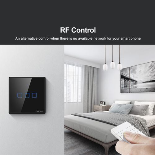 SONOFF T3 WIFI Wall Switch RF Smart Wall Touch Light Switch(UK)