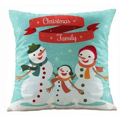 Schoolcool Christmas Santa Claus Pillow Case Sofa Waist Throw Cushion Cover Home Decor