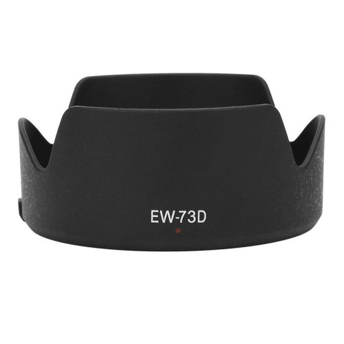 EW-73D Quality Plastic Camera Lens Hood Shade For Canon EF-S 18-135mm F / 3.5-5.6 IS USM