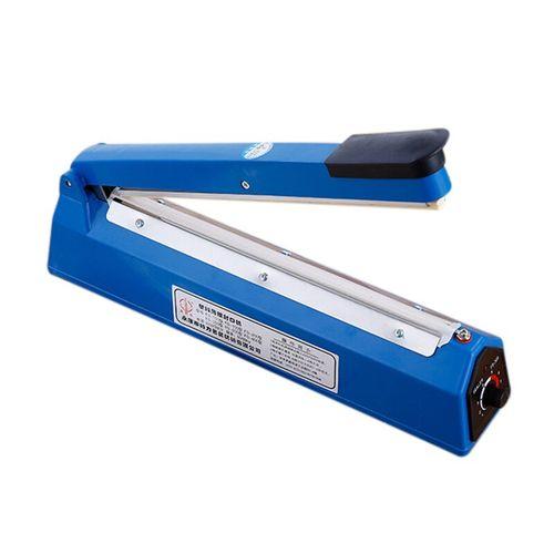 Impulse Sealer Heat Sealing Machine Kitchen Food Sealer Vacuum Bag Sealer Bag Packing Tools US Plug 220 V 400 W 12 Inch New And(Blue)(M)