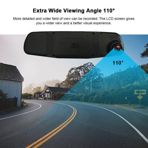 "1080P FHD 3.5 "" Car DVR Dash Cam Driving Camera Video Recorder"