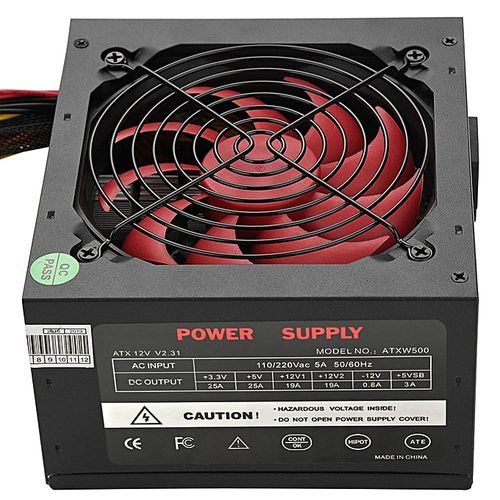 Computer Power Supply 550W PC Computer Desktop PSU Power Supply Unit