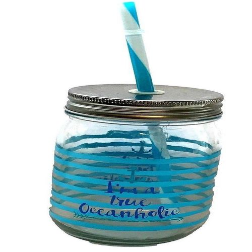 Summer Drinking Drinks Jar With Lid