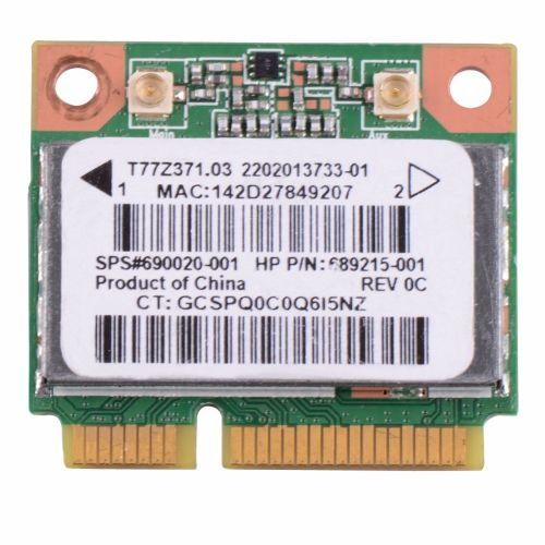 Notebook Network Cards Wireless WiFi Card RT3290 690020-001 Fit For HP Pavilion Sleekbook Laptop Network Cards VCA65 P79( )