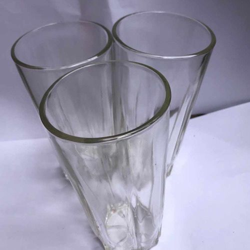 3 Pcs Glass Cups / Tumbler For Home And Office
