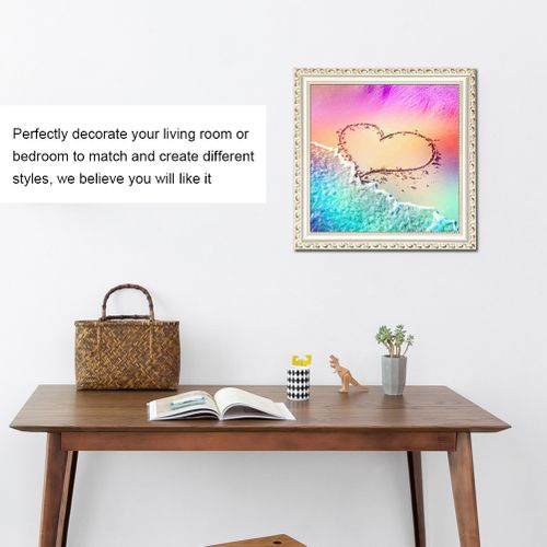Cross Stitch Kit Embroidery DIY Heart Pattern Diamond Painting For Home Decoration