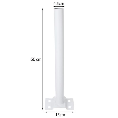 50cm Long Outdoor Garden Yard Post Lighting Lamp Post Support Pole Street Light