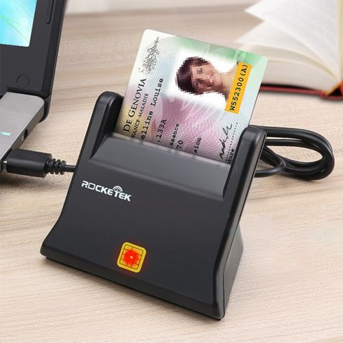 ROCKETEK SCR2 CAC ID SIM Chip Smart Card Reader