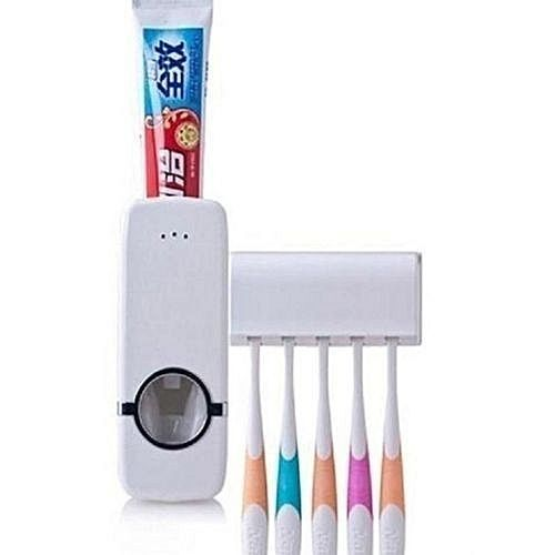 Tooth Paste & Brush Dispenser