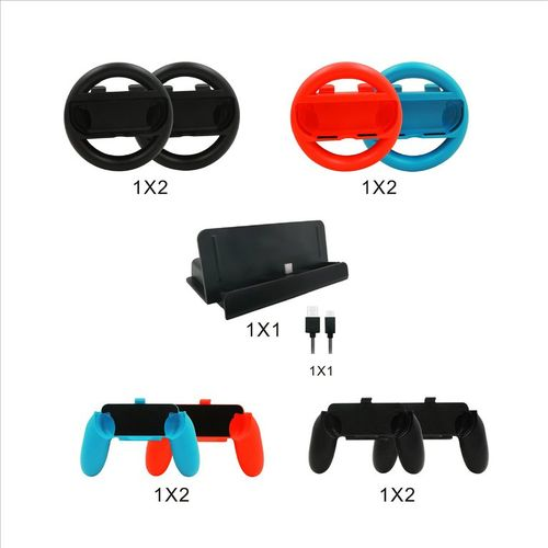 Steering Wheel Hand Grip Controller For Nintendo Switch