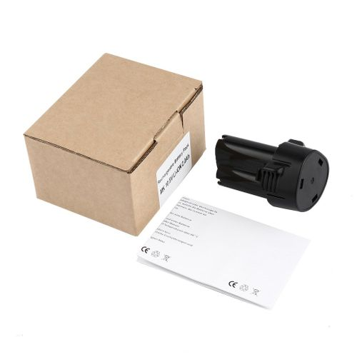 Li-ion Battery 12V Rechargeable Pack BL1013 Replacement For Makita Black