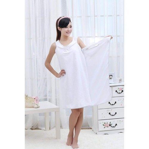 Wearable Towel - White