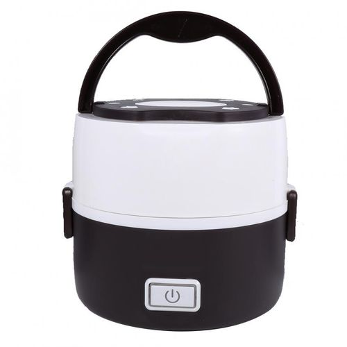 220V 2 Layers Electric Heated Lunch Box Set Multifunctional Food Warmer