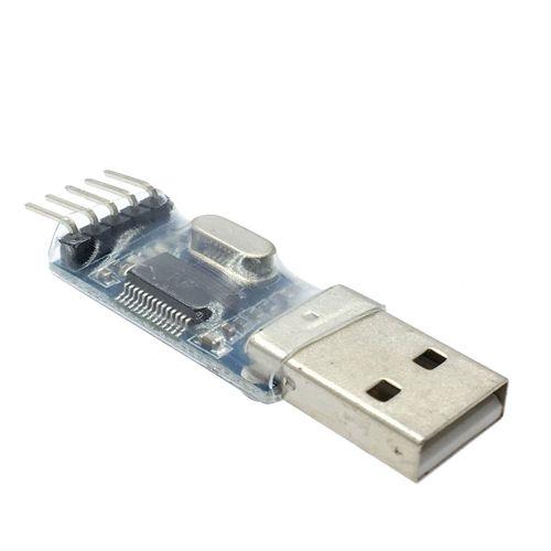 Pl2303Hx Download Line Usb To Ttl Stc Mcu Nine-Up Upgrade Brush Board Blue