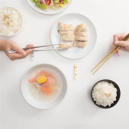 4pcs Xiaomi Chopsticks Food Grade Top 304 Stainless Steel Chopsticks Tableware Chinese Chopsticks Culture