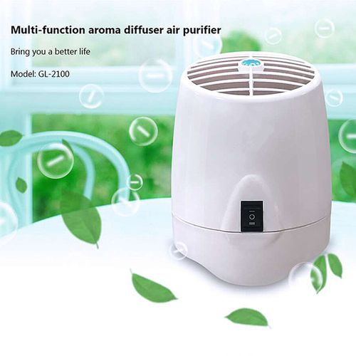 Portable Mini Air Purifier With Aroma Diffuser Anion Sterilization Air Cleaner