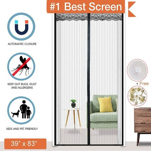 Mesh Curtains Prevent Mosquitoes And Flies From Entering