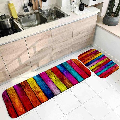 Flannel Non-Slip Area Rug Floor Mat Carpet Living Room Kitchen Bedroom Doormat