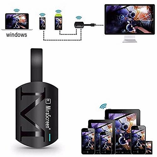 MiraScreen G4 TV Stick HDMI Dongle Receiver 2.4G WiFi Display Miracast DLNA Airplay