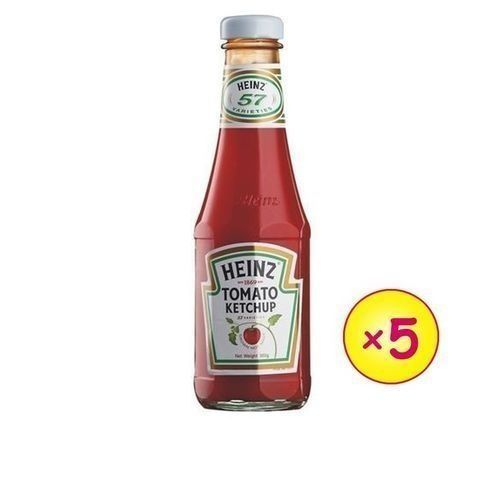 Classic Tomato Ketchup - 342g (5 Bottles)