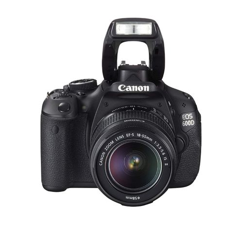 EOS 600D/ Rebel T3i Digital SLR Camera With 18-55 Mm Lens