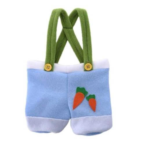 Benhongszy 1PC Cute Easter Bunny Pants-Shaped Cookie Bags Gift Bags For Candy Biscuits Snack Baking Package Wedding Party Gifts Bag Boxes