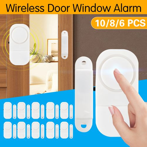Wireless Window/Door Entry Security Alarm Burglar Chime Doorbell