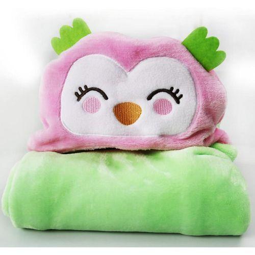 Cartoon Baby Bath Towel Flannel Holding Blanket