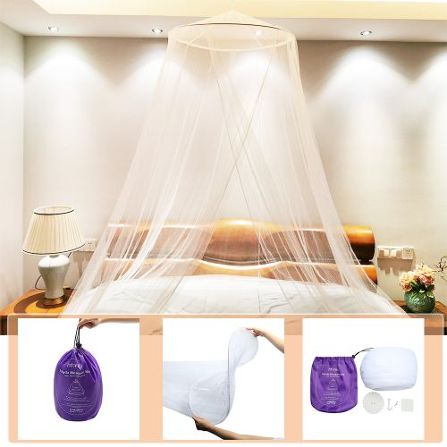 Htovila Universal Mosquito Mesh Net Easy Installation Dome