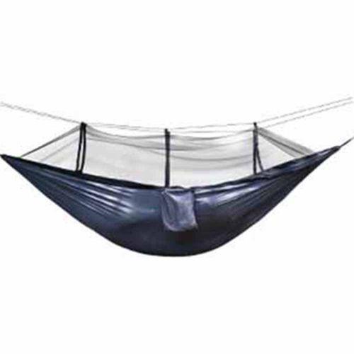 Ultralight Hammock Mosquito Net Breathable Anti-Mosquito Mesh Tent Black