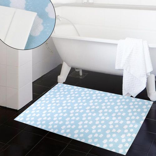 DIY Mat Self-adhesive Floor Anti-slip Mat For Home Entrance Home Bedroom Kitchen Blue
