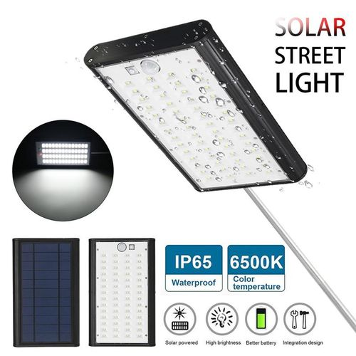 Solar Street Wall Light IP65 Waterproof Motion Sensor USB Charging Garden Light
