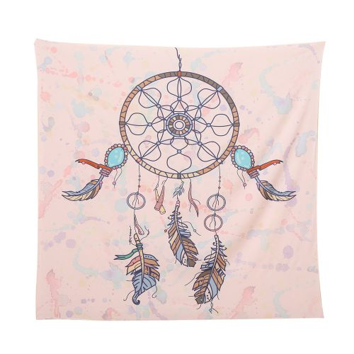 Dtrestocy Square India Bohemian Hippie Tapestry Beach Throw Roundie Mandala Towel Yoga Mat