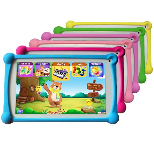 """Kids Tablet, 120+ English Apps Preloaded, 7"""", 1+8G Android"""