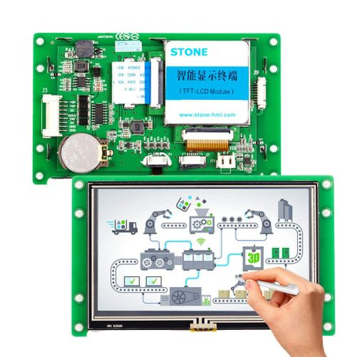 4.3 Inch Resistive Touch LCD Display For Embedded System