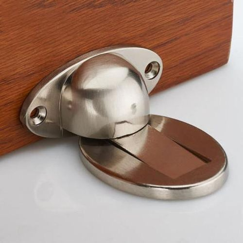 272384481549 Magnetic Door Holder Stopper Invisible Doorstop Wall Mounted Safety Catch