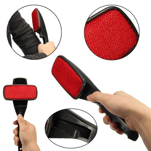 Magic Lint Fluff Dust Brush Pet Hair Fabric Remover Cloth Dry Clean Swivel