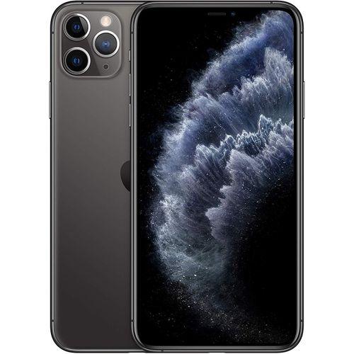 IPhone 11 Pro Max 6.5''-Dual Sim- Super Retina (4GB RAM, 64GB ROM),iOS 13,(12MP+12MP+12MP)+12MP 4G LTE Smart-Space Gray