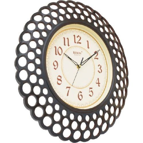 Wall Clock For Homes And Offices - Dark Brown