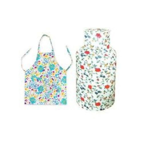 Kitchen Cloth Bundles - Waterproof Apron + Anti-rust Gas Cylinder Cover