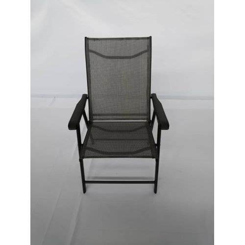 Collapsible Chair Made With Of Iron Frame & Textile Covering