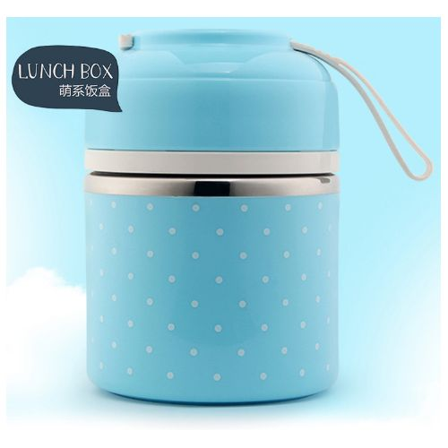 Mrosaa Cute Japanese Thermal Lunch Box Leak-Proof Stainless Steel Bento Box Kids Portable Picnic School Food Container Healthy