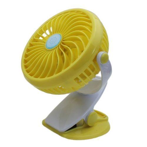 Portable Fan Rechargeable Battery With Mini Oscillating Clip Desk Fan