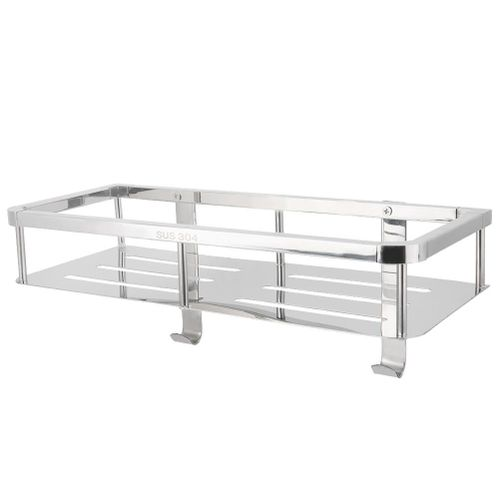 304 Organizer For Baskets With Object Holder For Stainless Steel Shelf With 2 Hooks