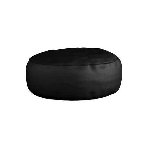Spikkle Bean Bag Leather Chair - Black