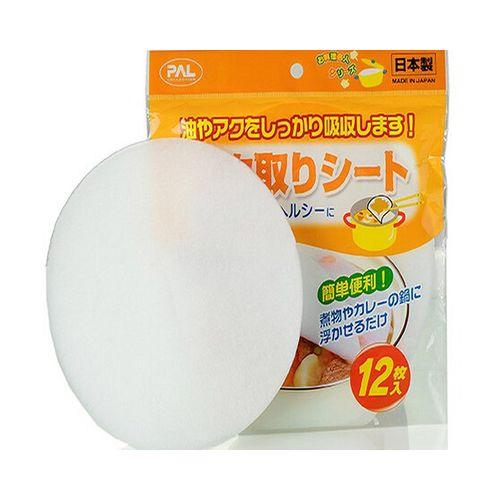 KCASA 12Pcs Kitchen Food Oil Absorption Paper Food Grade Health Oil Filter Strainer Paper Kitchen Tools Gadgets Kitchenware