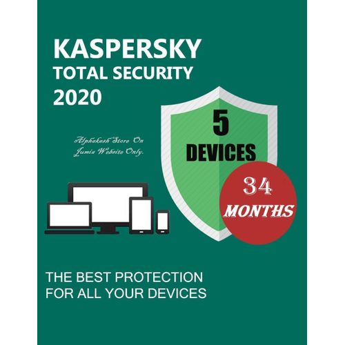 Total Security 2020 /5 Device/34Months Wind MacAndroid & IOS