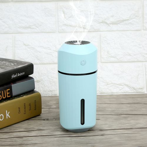 Mini USB Humidifier [ortable, LED Humidifiers Mist Fresh Air Diffusers For Home Bedroom Office Car Outdoor